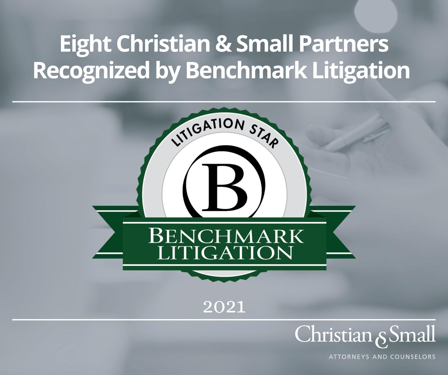 Seven Partners Recognized in 2021 Benchmark Litigation